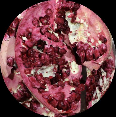 Pomegranate-Wedge