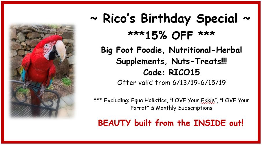 Rico's Birthday Special